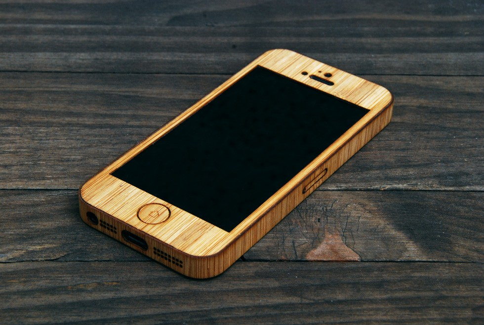 Bamboo iPhone Case for iPhone 5 and iPhone 5S