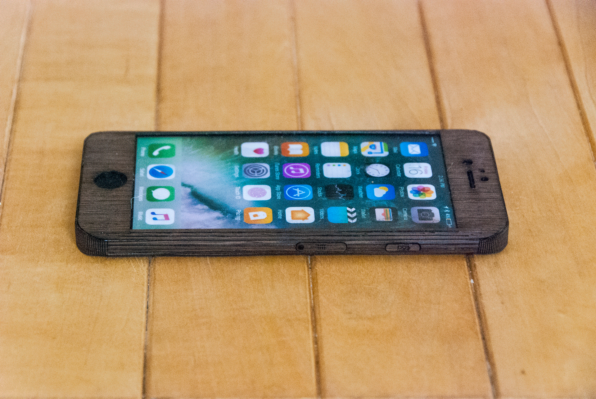 Wenge iphone 6S Case - smooth Style