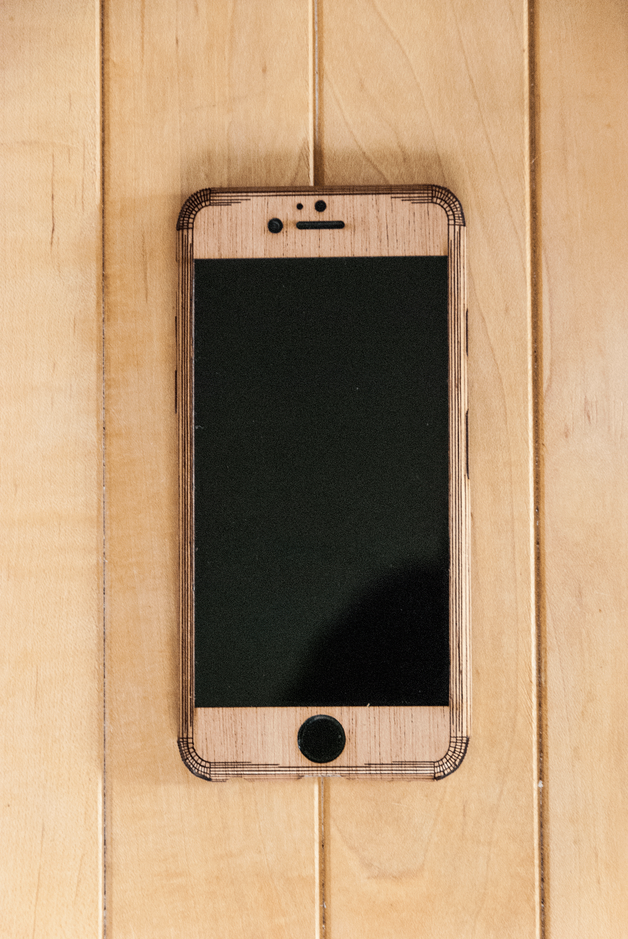 Mahogany iphone 6S Case - stealth Style