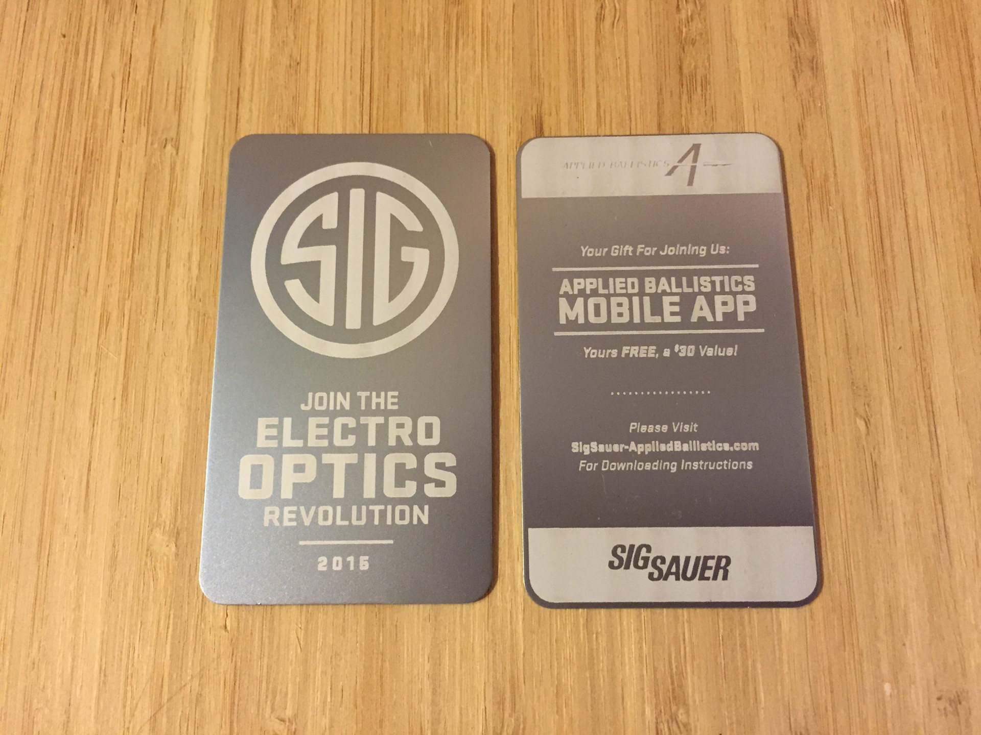 100 Thick Silver Metal Business Cards