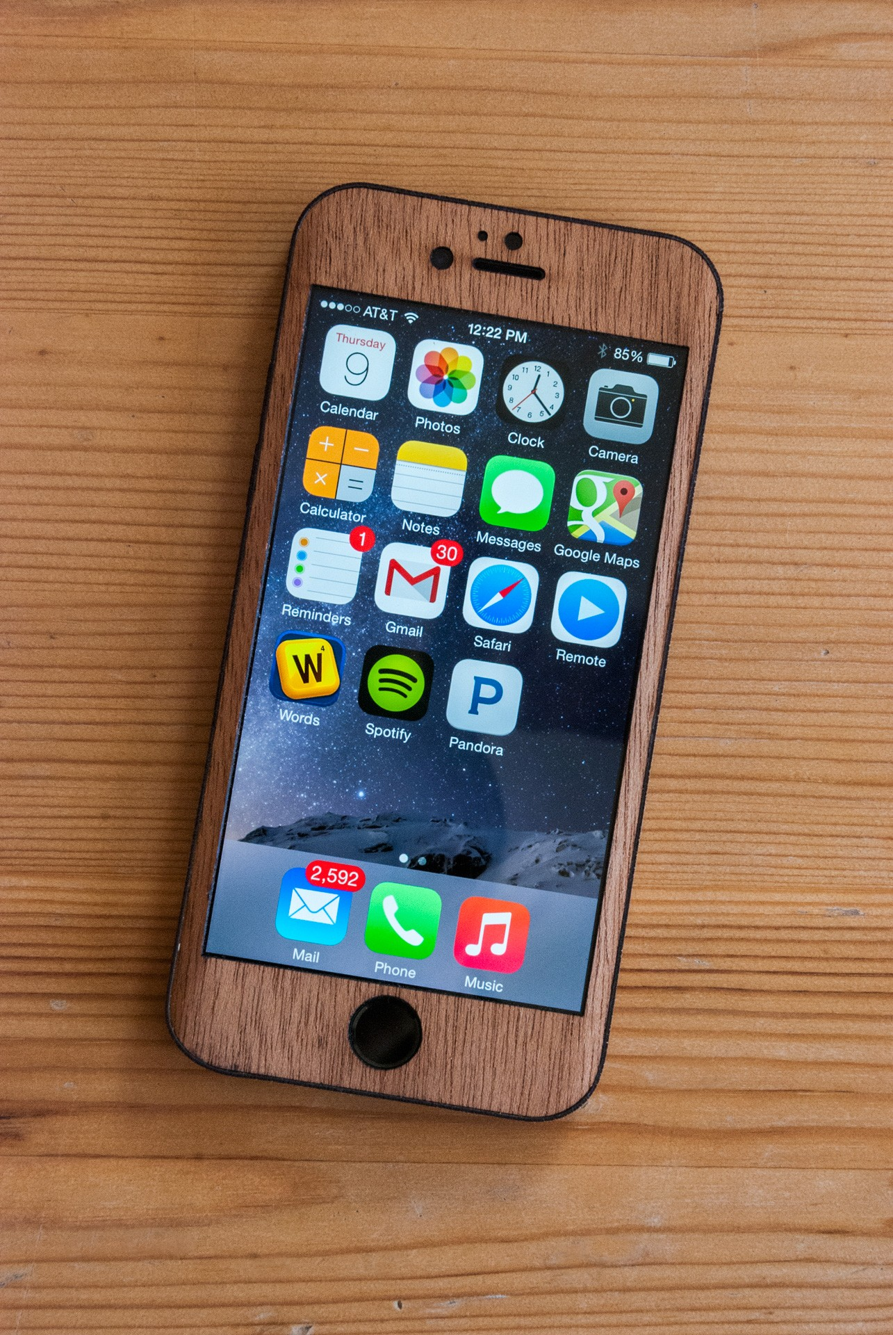 Mahogany iPhone 6 Case - Classic Design
