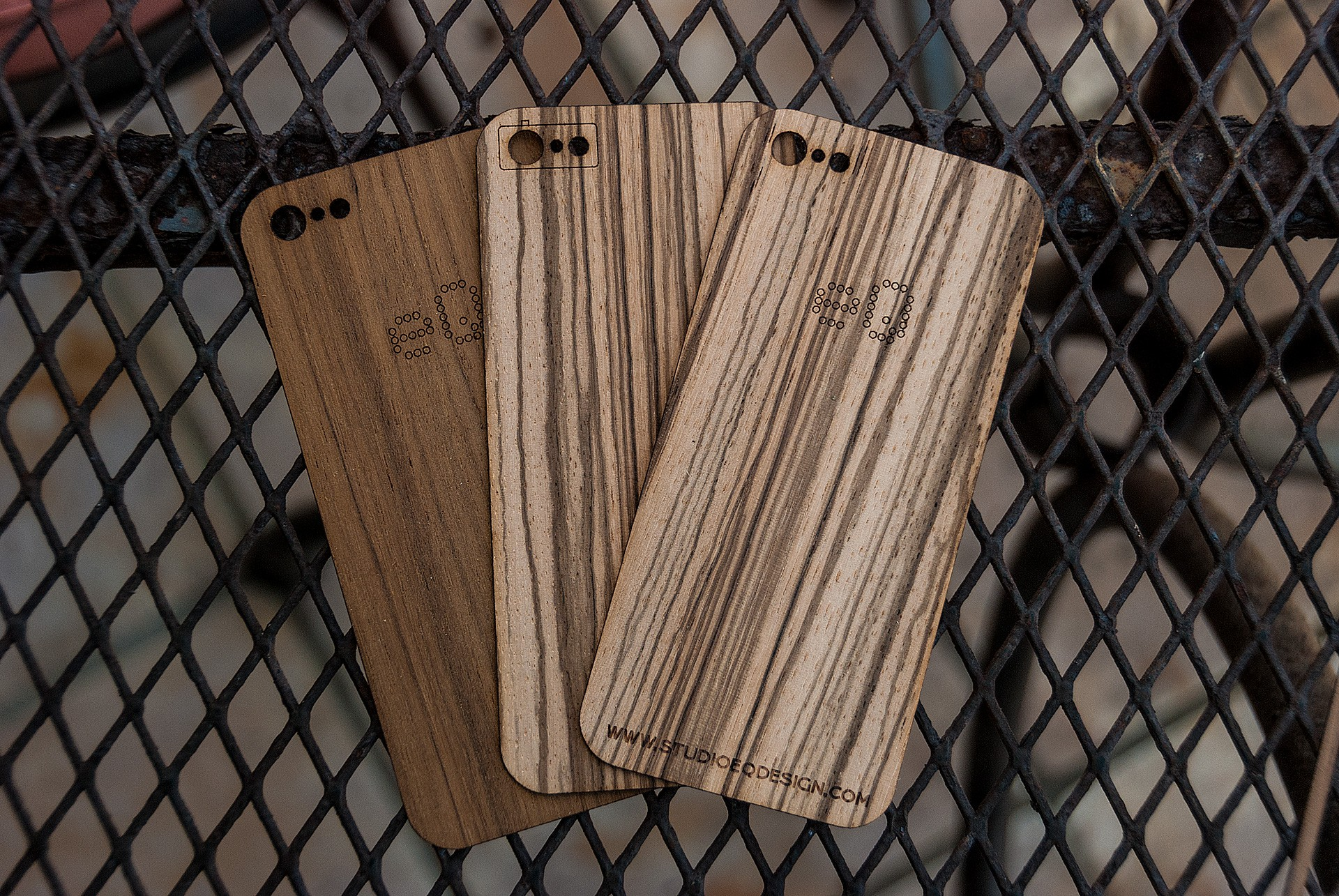 Wood iPhone Skin - Back Only