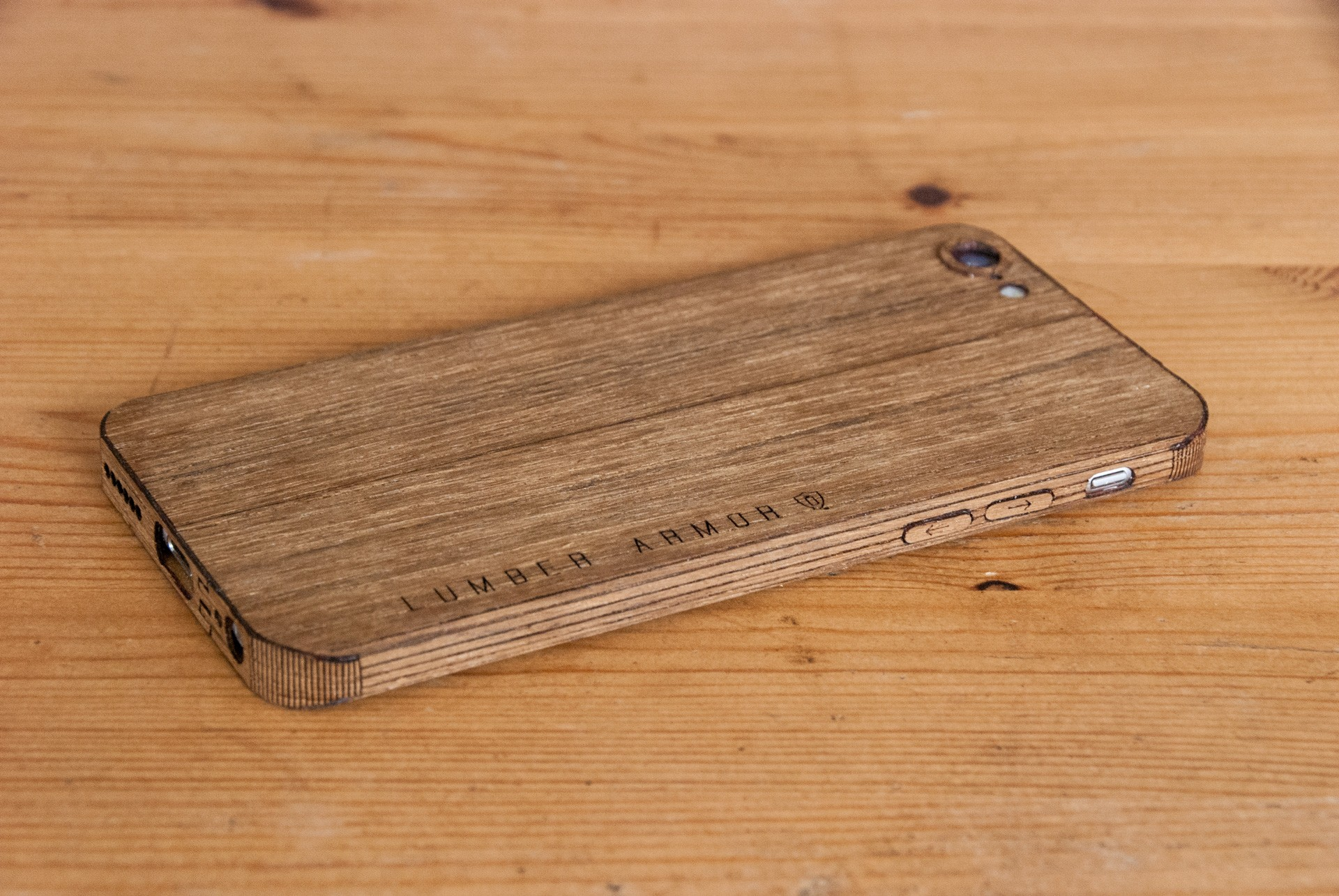 Teak iPhone 7 Case - smooth Style