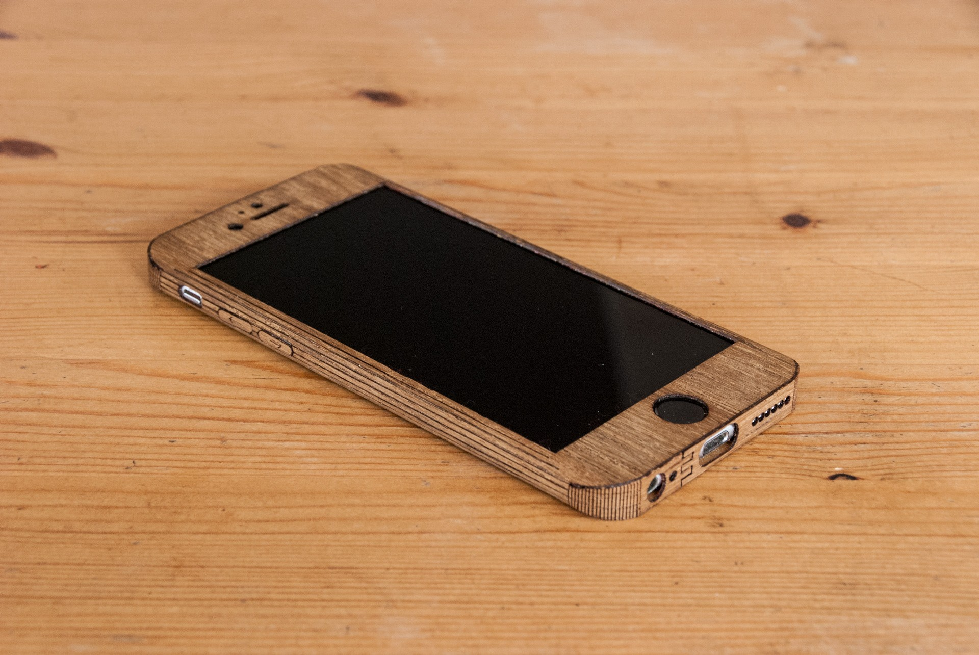 Teak iphone 6S Case - smooth Style