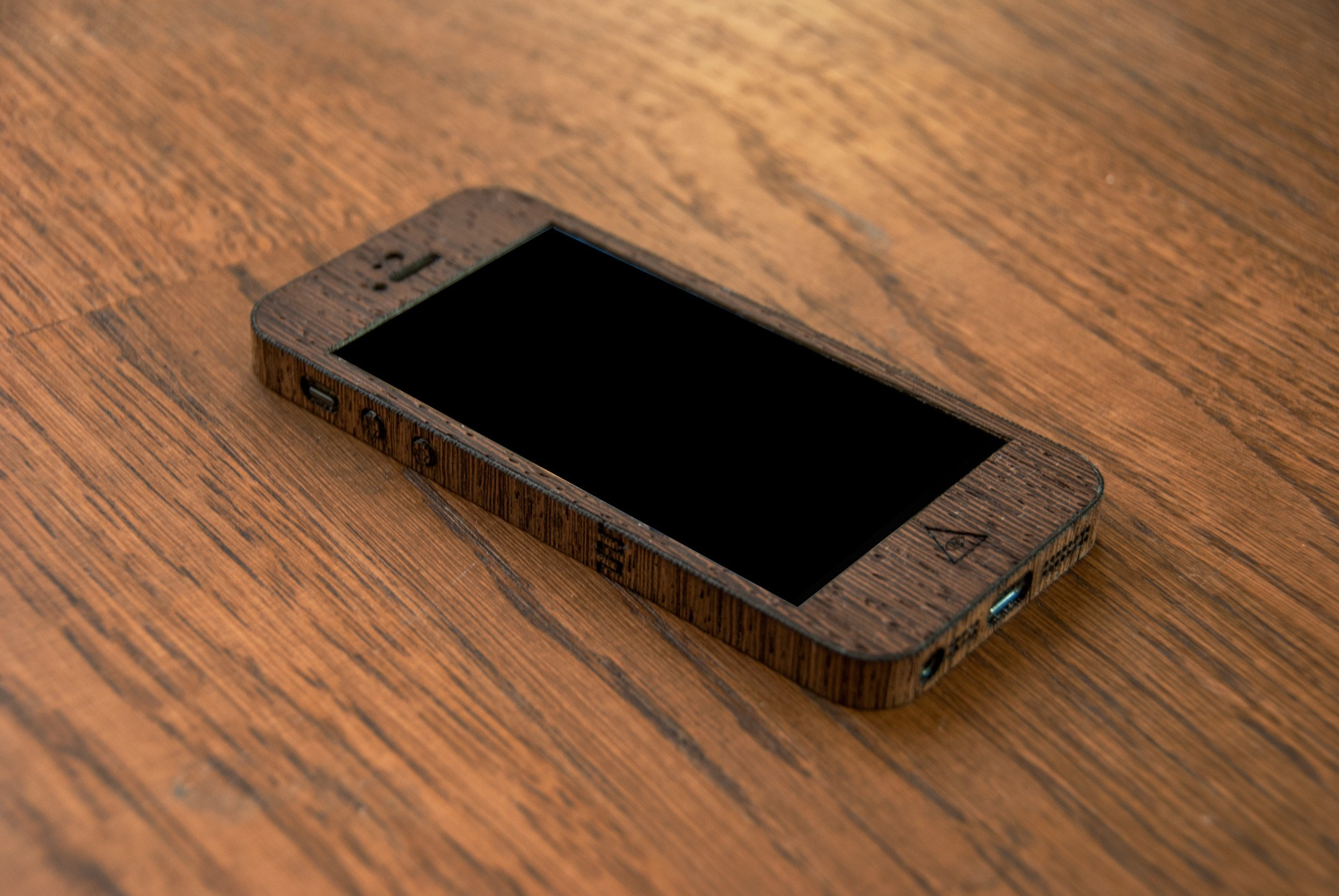 Wenge iPhone Case for iPhone 5 and iPhone 5S