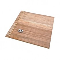 Custom 11 X 11 Bamboo Portfolio / Wood Presentation Book