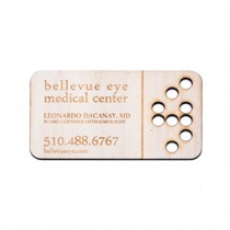 "1000 - 1/32"" Birch Plywood Business Cards"