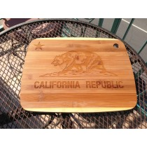 "Cutting Board by Core - Laser-Etched by eQ - 11"" x 9"""