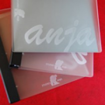 Acrylic Portfolio with 3-Ring Binder