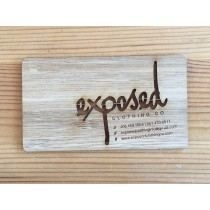 50 Bamboo Business Cards
