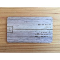 100 Walnut Business Cards