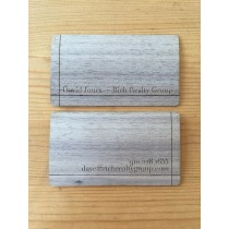 500 Walnut Business Cards