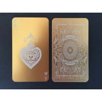 100 Thick Gold Metal Business Cards