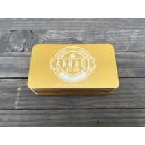 50 Thick Gold Metal Business Cards