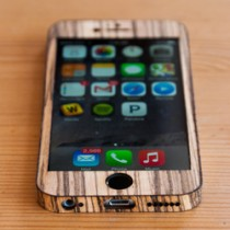 Zebrawood iPhone 6 Case - Classic Design