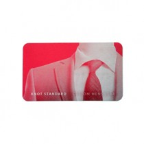 250 Red Metal Business Cards