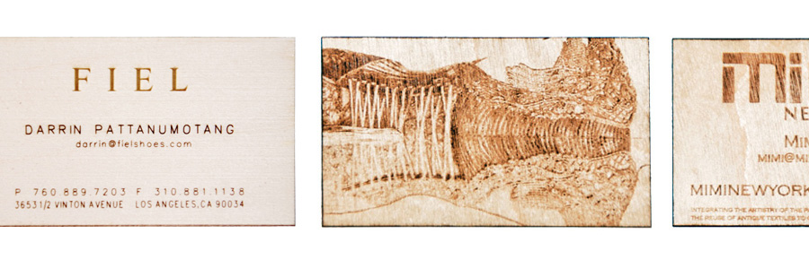 Studio eq laser cut and laser etched business cards in birch solid wood business cards colourmoves