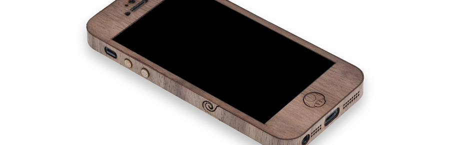 walnut iphone case