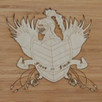 Wood Logo Inlay - Add Service