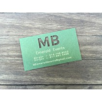 1000 Museum / Mat Board Business Cards