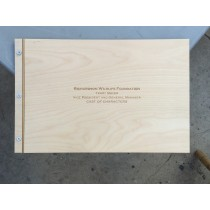11 X 14 Birch Portfolio / Birch Presentation Book