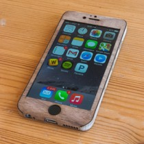 Walnut iPhone 6 Case - Sleek Design