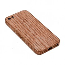 Laser-Etched Wood Grain iPhone Case