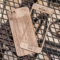 Wooden iPhone Skin - Front & Back