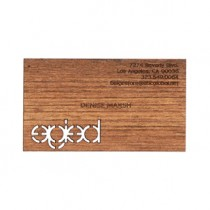 50 Teak Business Cards