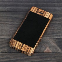 Zebrawood (Zebrano) iPhone Case for iPhone 4 and iPhone 4S