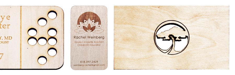 birch business cards